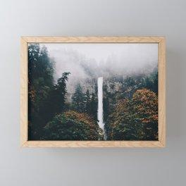 Multnomah Falls Framed Mini Art Print