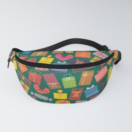 Fun Gift Box pattern Fanny Pack