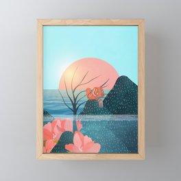 Botanical under the sea 1 Framed Mini Art Print