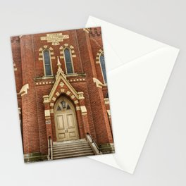 First Lutheran Church in Moline, Illinois Stationery Cards