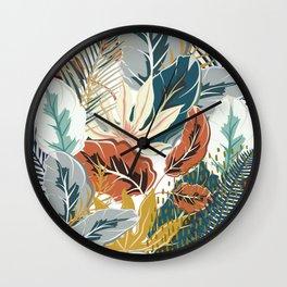 Tropical Wild Jungle Wall Clock