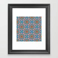 kalei coral Framed Art Print