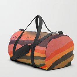 Abstract Retro Landscape 03 Duffle Bag