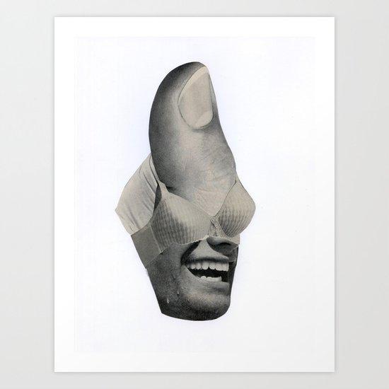 Blind Fold Art Print