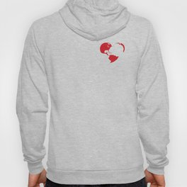 Heart world 2 Hoody