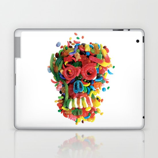 Death and Tooth Decay Laptop & iPad Skin