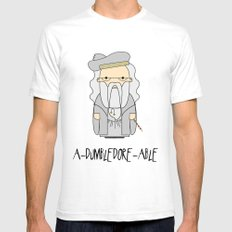 A-DUMBLEDORE-ABLE.  SMALL Mens Fitted Tee White