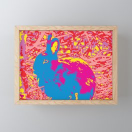 Icelandic Bunny Framed Mini Art Print