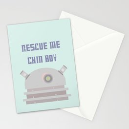 Rescue Me Chin Boy Stationery Cards