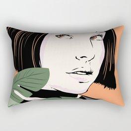 Mathilda portrait Rectangular Pillow