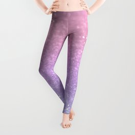 Unicorn Princess Glitter #1 (Photography) #pastel #decor #art #society6 Leggings