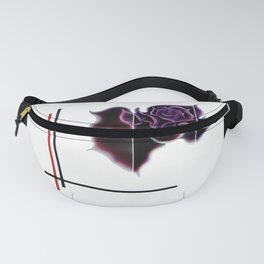 Abstract in perfection - Fertile Imagination Rose 5 Fanny Pack
