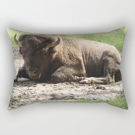 Don't You Buffalo Me Rectangular Pillow