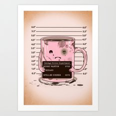Mugshot Art Print
