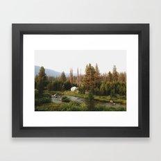 Idaho Camper Framed Art Print