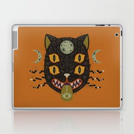 Spooky Cat Laptop & iPad Skin