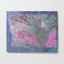 abstract dressing Metal Print