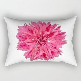 Pink Cornflower Rectangular Pillow
