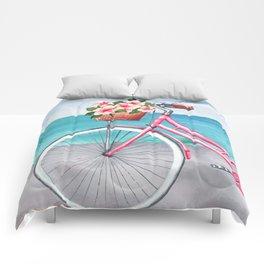 Summer is coming Comforters