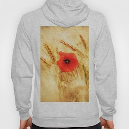 Poppies in the cornfield Hoody