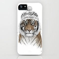 Siberian tiger iPhone SE Slim Case