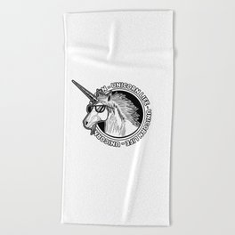 Unicorn Life Beach Towel