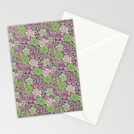 Succulent Spring Stationery Cards