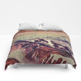 Victory the Climb Comforters