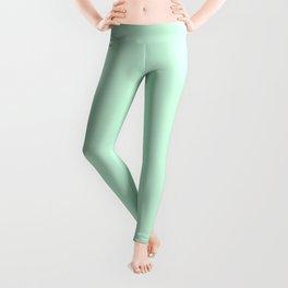 Summermint Pastel Green Mint Leggings