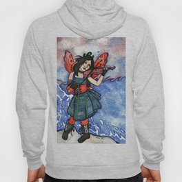 She Plays For The Waves Hoody