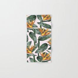 Bird Of Paradise Pattern #society6 #decor #buyart Hand & Bath Towel