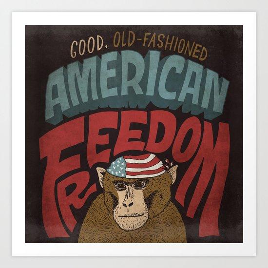 American Freedom Art Print