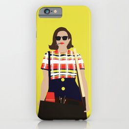 Peggy Olson Mad Men iPhone Case