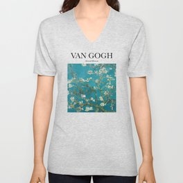 Van Gogh - Almond Blossom Unisex V-Neck