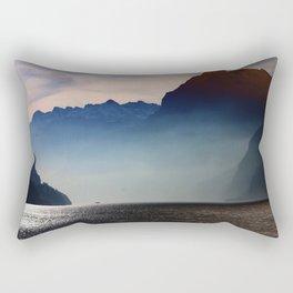 Swiss Lake Rectangular Pillow