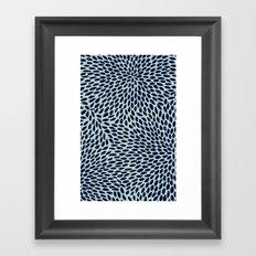 NO QUIETUDE GREEN Framed Art Print