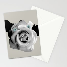 vaca with beautiful ojos Stationery Cards