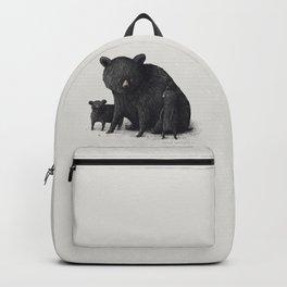 Black Bear Family Backpack