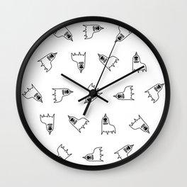 LlamaCorns Wall Clock