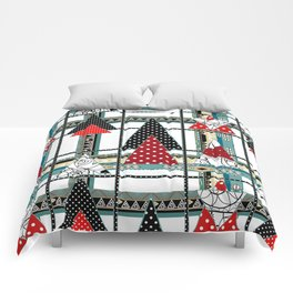 Art. Morning Fantasies . Patchwork Comforters