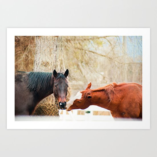 True Friends. I think we're being watched. Art Print