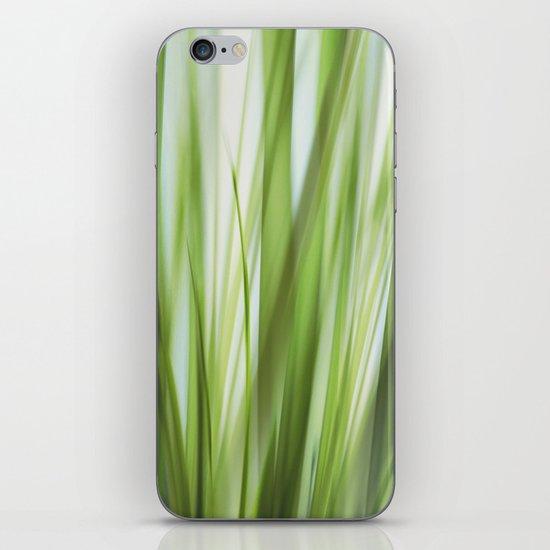 Grass talk iPhone & iPod Skin