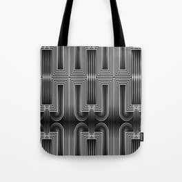 Art Deco 32 . Graffiti black and white Tote Bag