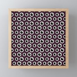 Eye Spy (Patterns Please) Framed Mini Art Print