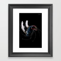 I wanna be free like a fly colors logo blanc urban fashion culture Jacob's 1968 Paris Agency Framed Art Print