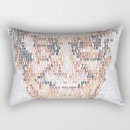 Stan Lee. Rectangular Pillow