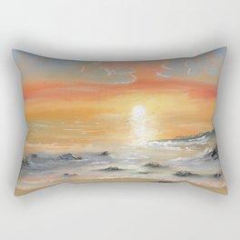 South Florida Sunset Rectangular Pillow