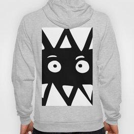 Black and white monster Hoody