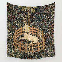 The Unicorn In Captivity Wall Tapestry