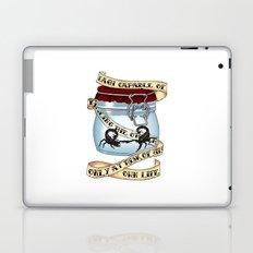 Father of the atom bomb Laptop & iPad Skin